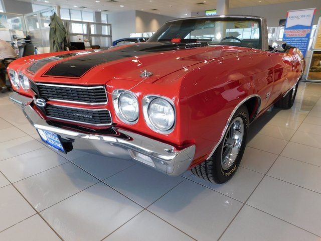 PRE-OWNED 1970 CHEVROLET CHEVELLE SS CONVERTABLE