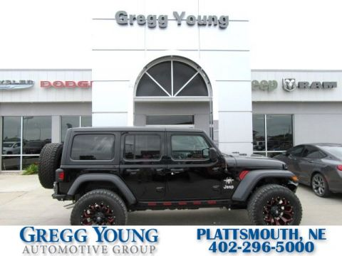 New 2018 JEEP Wrangler SCA Black Widow Sport